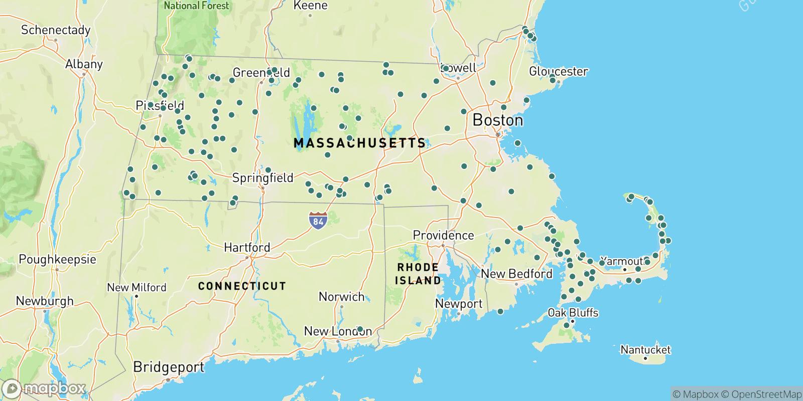 The best camping near Massachusetts, Massachusetts